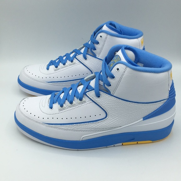 sale retailer 5f5c7 f16e4 Air Jordan Retro 2 Univ. Blue Carmelo Anthony